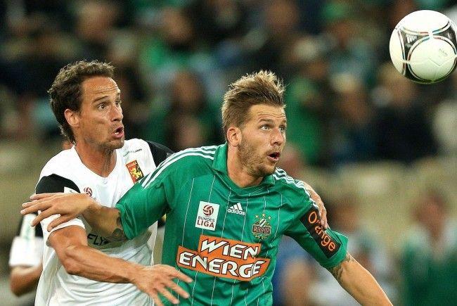 Rapid Wien und Admira Waacker trennten sich am Samstag mit 0:0.
