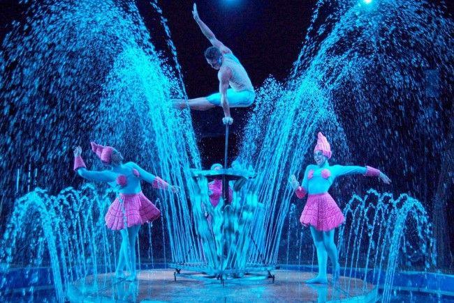 """Der """"Circo Acquatico"""" findet vom 14. September bis 21. Oktober 2012 statt."""
