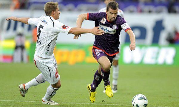 Das Duell zwischen dem WAC und der Austria blieb beim 1:1.