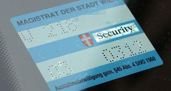 Die ÖVP kritisiert die Kriteiren bei der Vergabe von Parkpickerl an Anrainer.