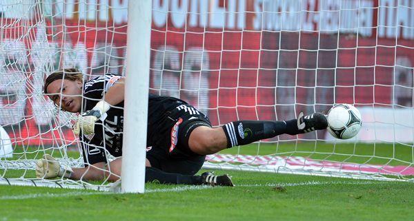 Der SV Ried verlor das Heimspiel gegen die Hütteldorfer.
