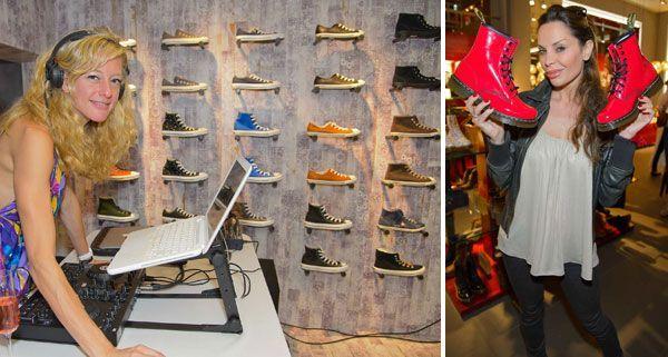 Stiefelkönig eröffnete einen neuen Store - viele Promis waren mit dabei.