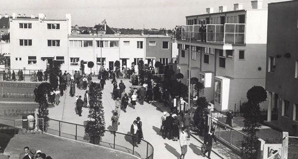 """Unter dem Motto """"Wohnen im Denkmal"""" widmet sich die neue Ausstellung des Wien Museums der Werkbundsiedlung."""