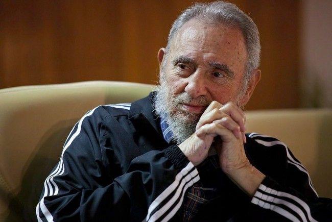 Kubas Revolutionsführer Fidel Castro.