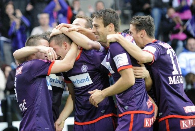 Austria Wien gewinnt 3:0 gegen SK Rapid