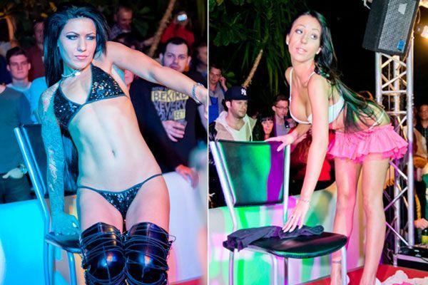 Bei der Erotikmesse in der Pyramide Vösendorf wird mit weiblichen Reizen nicht gegeizt