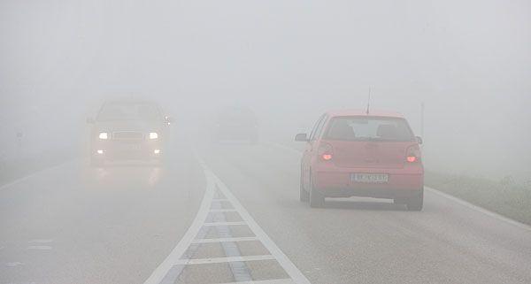 Nebel sorgt für schlechte Sicht - oftmals sind Unfälle die Folge