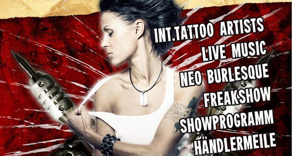 VIENNA.AT verlost 2x2 Tickets zur Tattooconvention Wien