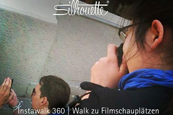 Silhouette lädt zum Viennale-Instawalk