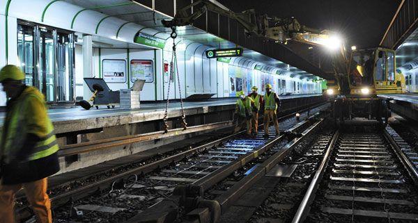 Auf der Linie U4 finden ab Mitte Oktober Instandhaltungsarbeiten statt.