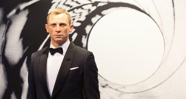 Daniel Craig als 007 ist die 71. Wachsfigur bei Madame Tussauds in Wien.
