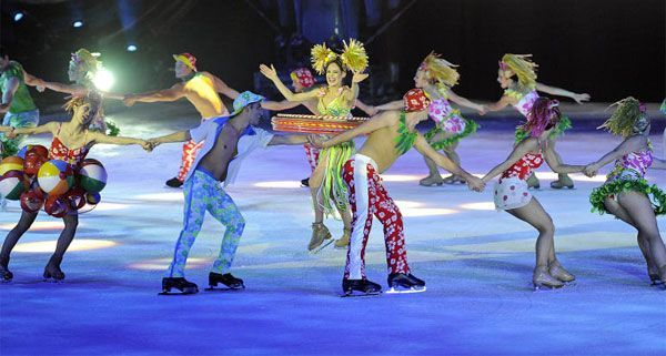 "Holiday On Ice gastiert mit ""Speed"" in Wien."