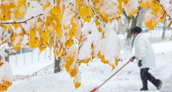 In weiten Teilen Österreichs hat es schon geschneit, in der kommenden Woche wird das Wetter milder.