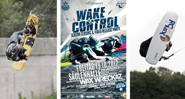 Die Crew des Wake Control Vienna laden zur exklusiven Season Closing Party in die Säulenhalle