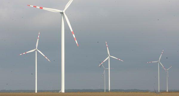 Der Windpark in Glinzendorf wurde eröffnet.