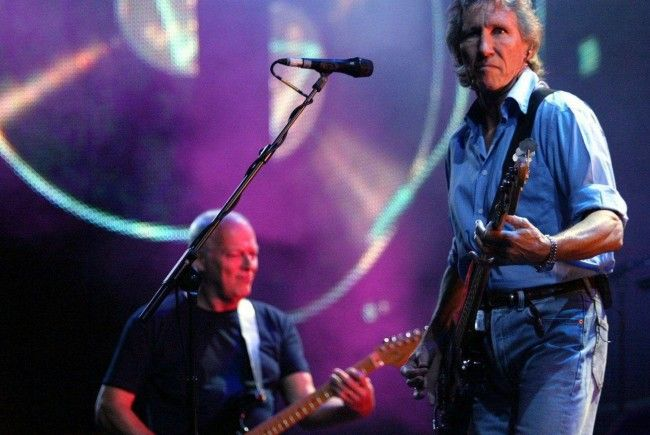 Ehemaliger Pink Floyd-Bassist Roger Waters bei einem Konzert in London.