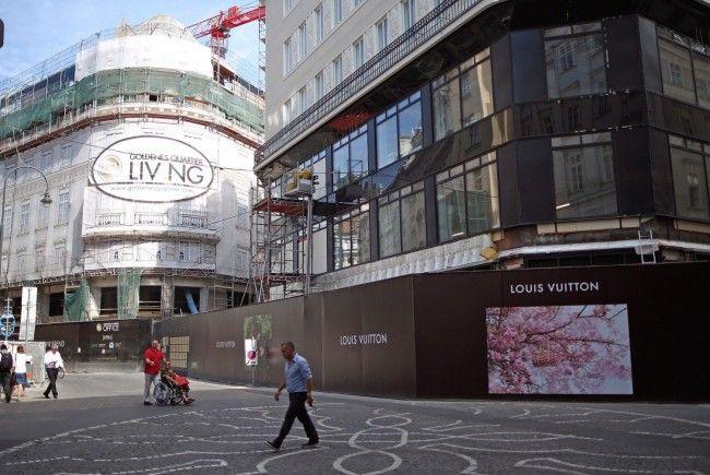 Am Donnerstag wurde der Emprio Armani-Store in der Wiener Innenstadt eröffnet.
