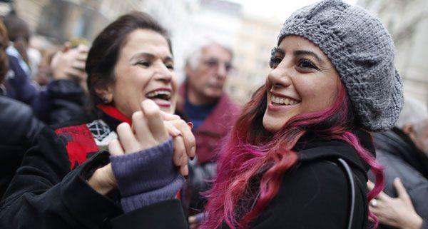 Faschingsbeginn in Wien: Heute wurde am Graben wieder getanzt