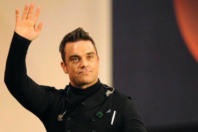 Robbie Williams gibt am 17. Juli 2013 sein Wien-Konzert in der Krieau.