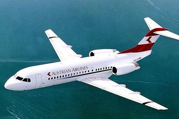 Eine Fokker 70 der AUA musste wegen eines möglichen Defekts nach Wien zurück