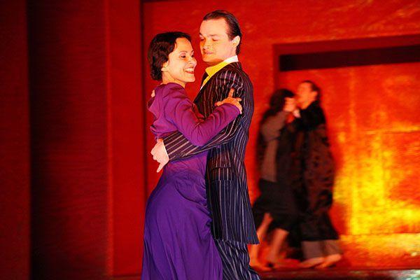 """Bei der Premiere von """"Anna Karenina"""" im Volkstheater"""