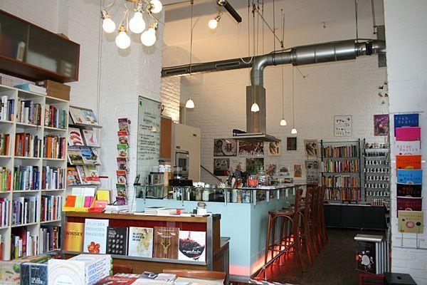 Kochbücher kaufen, essen und vieles mehr kann man bei Babette's in der Schleifmühlgasse
