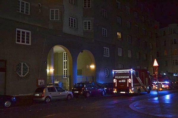 Bei dem nächtlichen Brand in Wien-Leopoldstadt