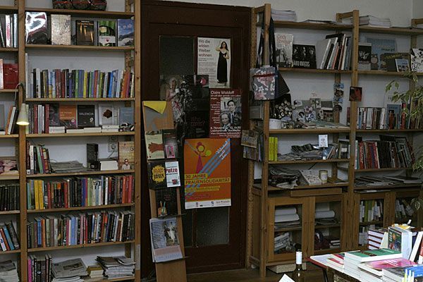 Im ChickLit, der einzigen feministischen Buchhandlung Wiens
