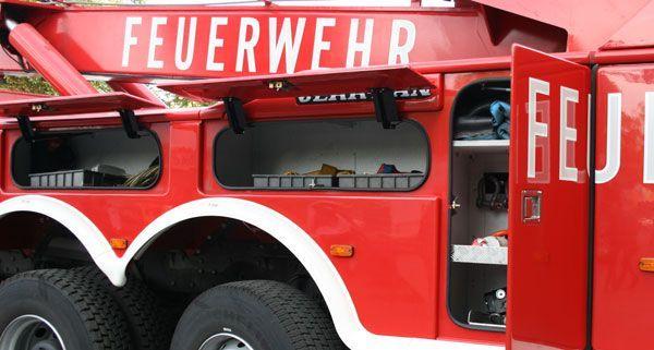 Die Feuerwehr musste zu einem Sturm-Einsatz auf der Mariahilfer Straße