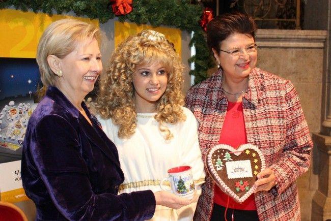 Amanda Larissa ist das Wiener Christkindl 2012.
