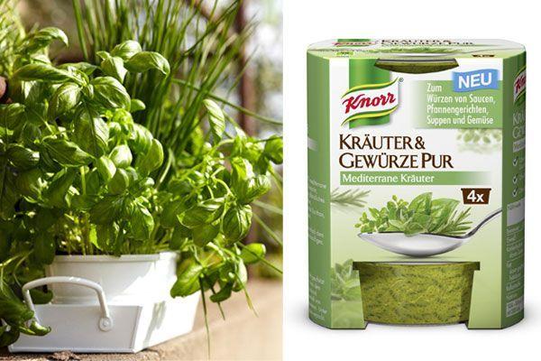 Mit KNORR Kräuter & Gewürze PUR schmeckt es gleich doppelt so gut