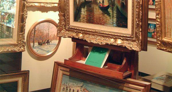 Bei einem Kunstraub in Favoriten wurden 13 wertvolle Bilder gestohlen