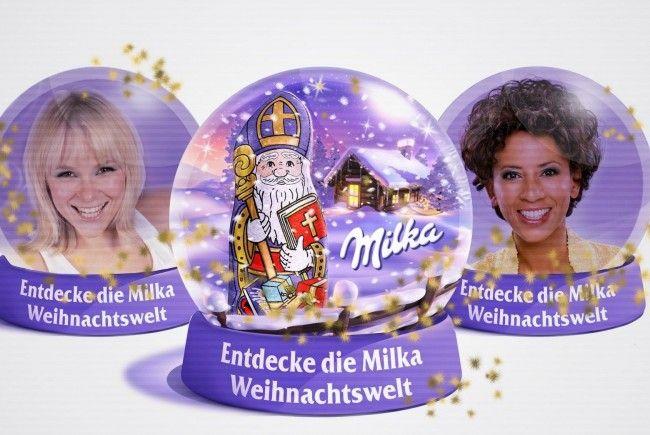 Die Milka Weihnachtswelt erleben!