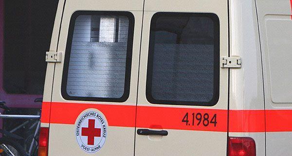 Das ältere Ehepaar wurde nach dem Vorfall in Krems von der Rettung abgeholt