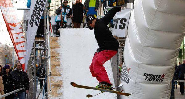 Sports Experts und Völkl / Marker bringen am zweiten Einkaufssamstag im Dezember den Skiwinter nach Wien
