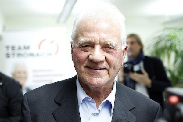Frank Stronach bei der Eröffnung der neuen Klub-Räumlichkeiten in Wien