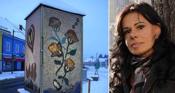 Künstlerin Suyin beschreibt die größte Edelsteinlaterne der Welt als Geschenk der Natur und der Künstler ans Universum