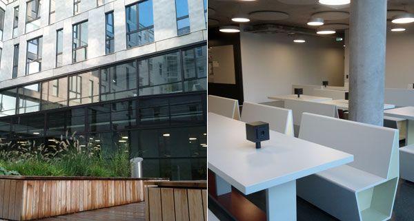 Das neue Gebäude für die Publizistik und Informatik