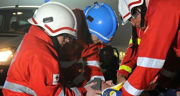 Einen Toten und einen Schwerverletzten forderte ein Unfall in Korneuburg.