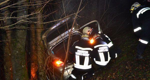 Verkehrsunfall auf der B26 zwischen Stixenstein und Puchberg
