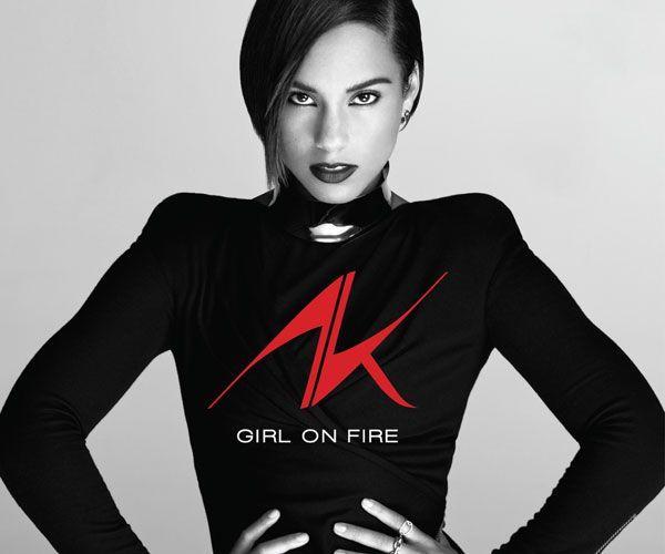 """Alicia Keys präsentiert ihr """"feuriges"""" neues Album."""