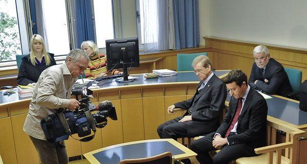 Rene Banko und sein Steuerberater bekannten sich beim Prozess in Wien nicht schuldig.