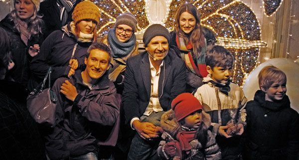 Auch Dirk Stermann präsentierte seine ganz persönliche Weihnachtsgeschichte am Wiener Christkindlmarkt