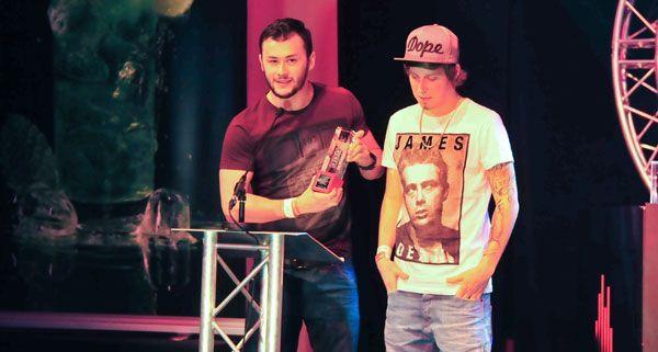 Auch die Trackshittaz räumten einen Austrian Dance Award ab.