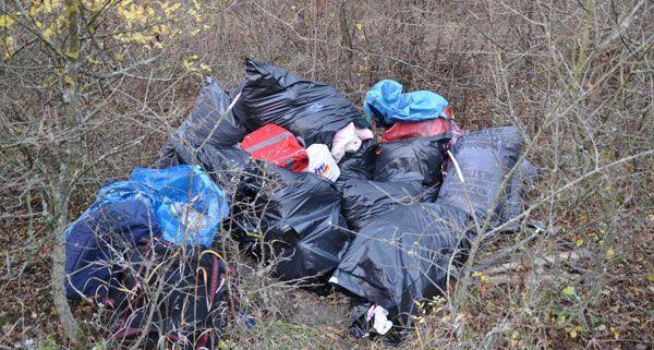 In Müllsäcken war das Diebesgut in Langenzersdorf verpackt gewesen.
