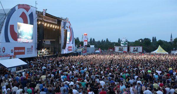 Das Donauinselfest 2013 ist die 30. Ausgabe.