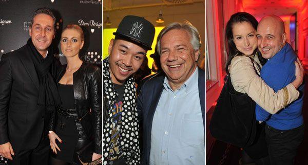 Gastgeber Martin Ho freute sich über zahlreiche prominente Gäste im DOTS.