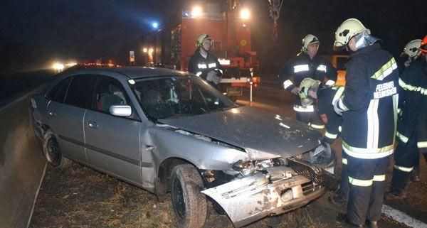 Nach einem Unfall auf der A 2 Richtung Wien kam es zu einem Rückstau.