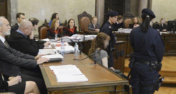 Estibaliz C. bleib bei der Urteilsverkündung am Donnerstag gefasst.