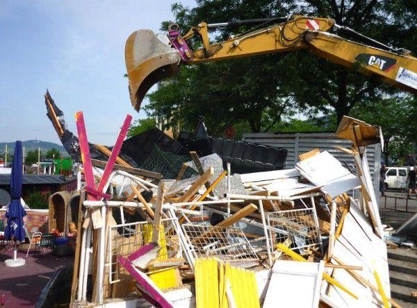 Stadt und Pächter streiten vor Gericht um Copa Cagrana
